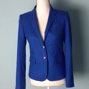 J crew blue Schoolboy Blazer 2 pockets